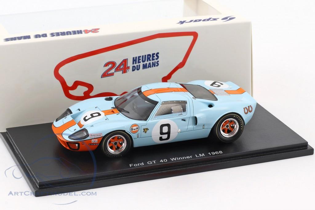 Ford GT 40 #9 Winner 24h LeMans 1968 50 Years Anniversary Rodriguez, Bianchi