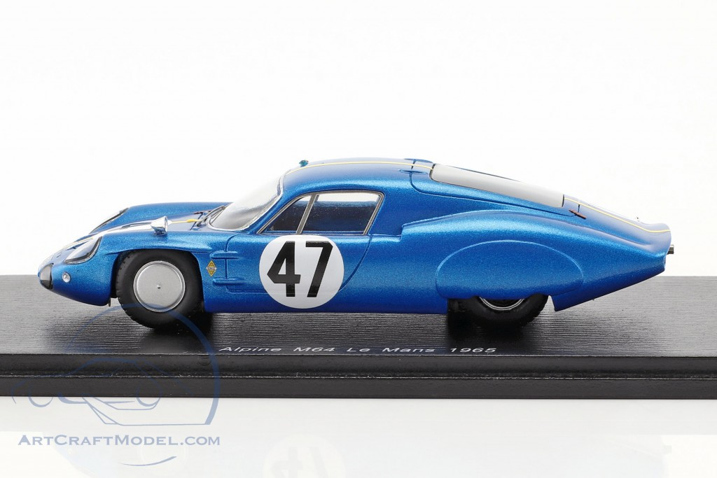 Alpine M64 #47 24h LeMans 1965 Vinatier, de Lageneste