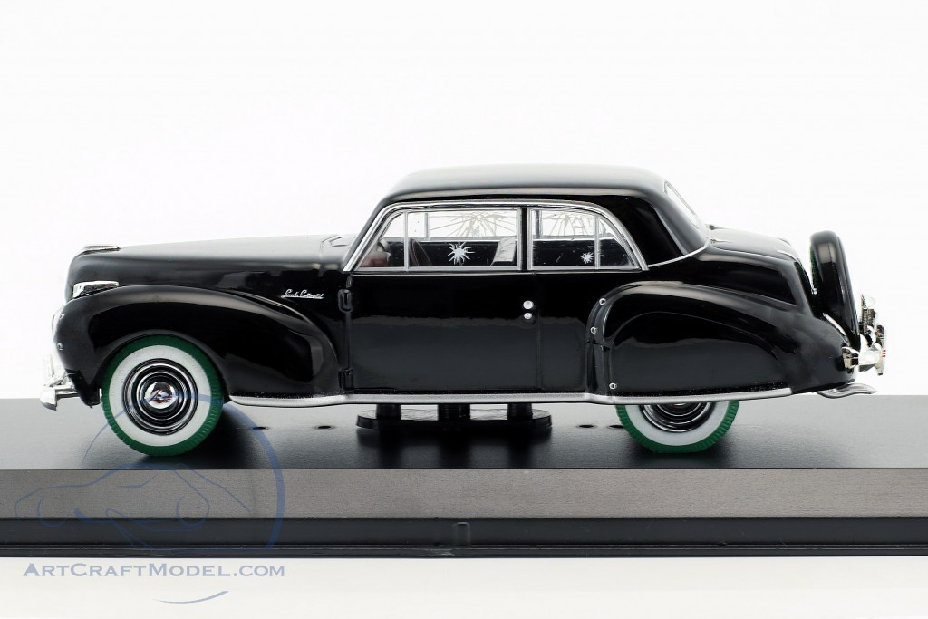 Lincoln Continental with Bullet Hole Damage Film The Godfather 1972 schwarz / grün