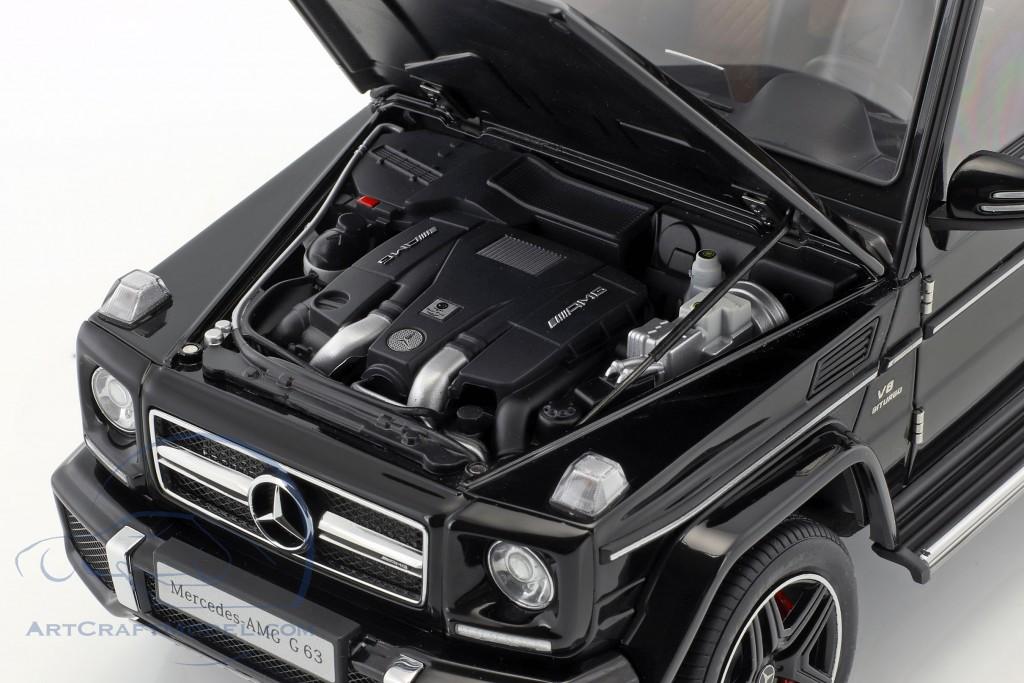Mercedes-Benz AMG G63 Baujahr 2017 schwarz glänzend