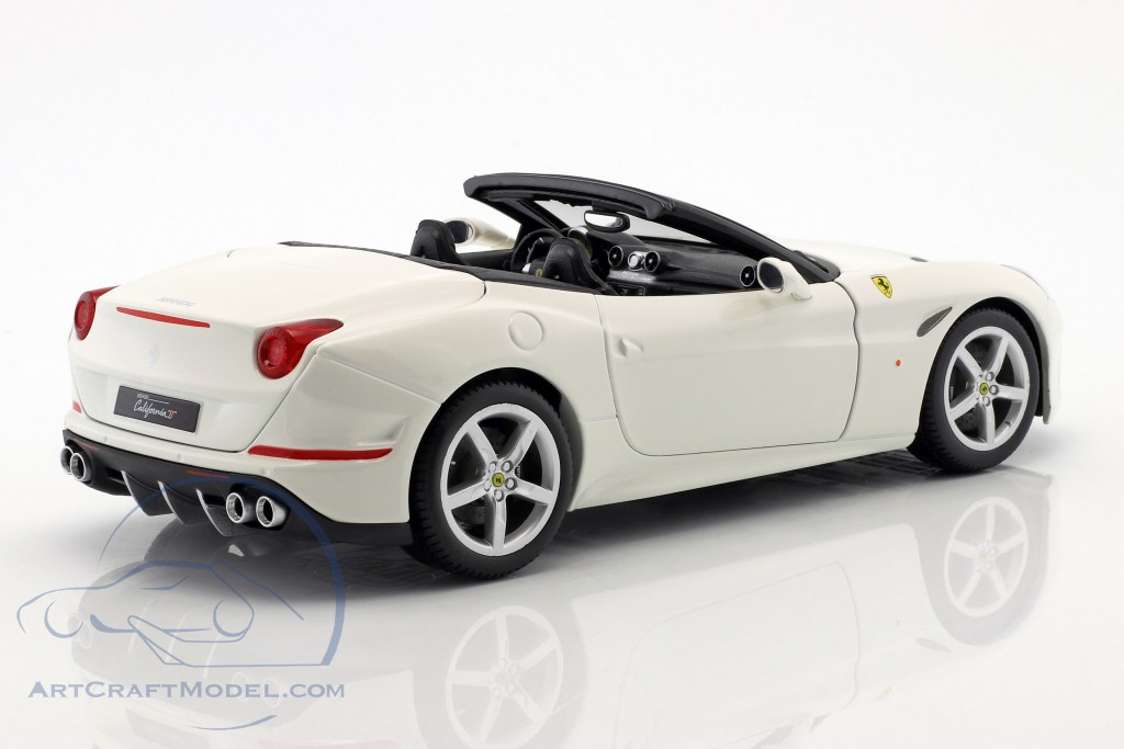 Ferrari California T Open Top year 2014 white