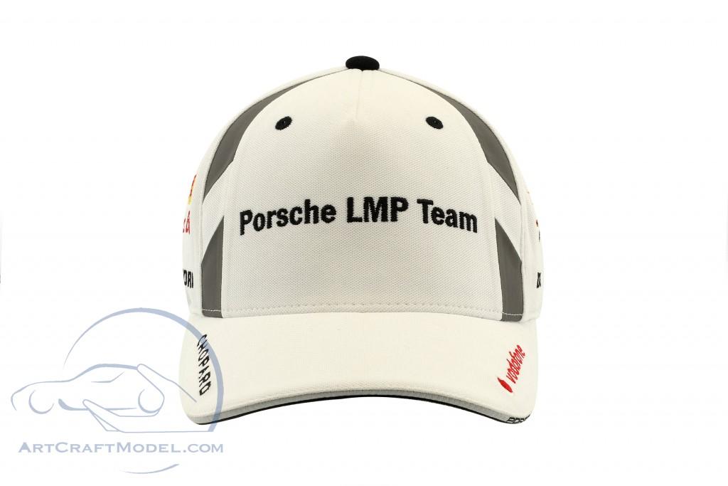 Porsche LMP Team Cap #1 Neel Jani 24h LeMans 2017 weiß