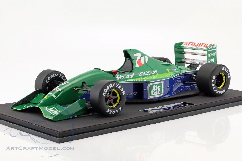 Michael Schumacher Jordan 191 #32 F1 Debut Belgien GP Formel 1 1991 1:8