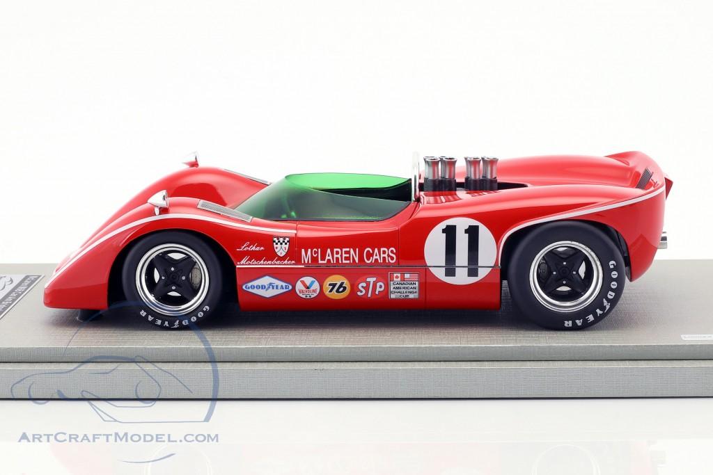 McLaren M6B #11 3rd Bridgehampton GP Can-Am Series 1968 Lothar Motschenbacher