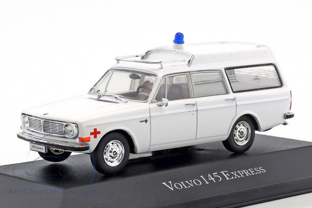Volvo 145 Express Ambulance Baujahr 1969 weiß