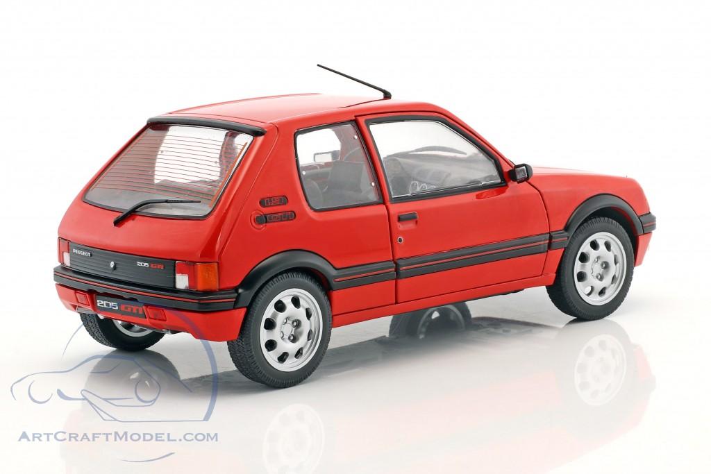 Peugeot 205 GTI MK1 Baujahr 1988 rot