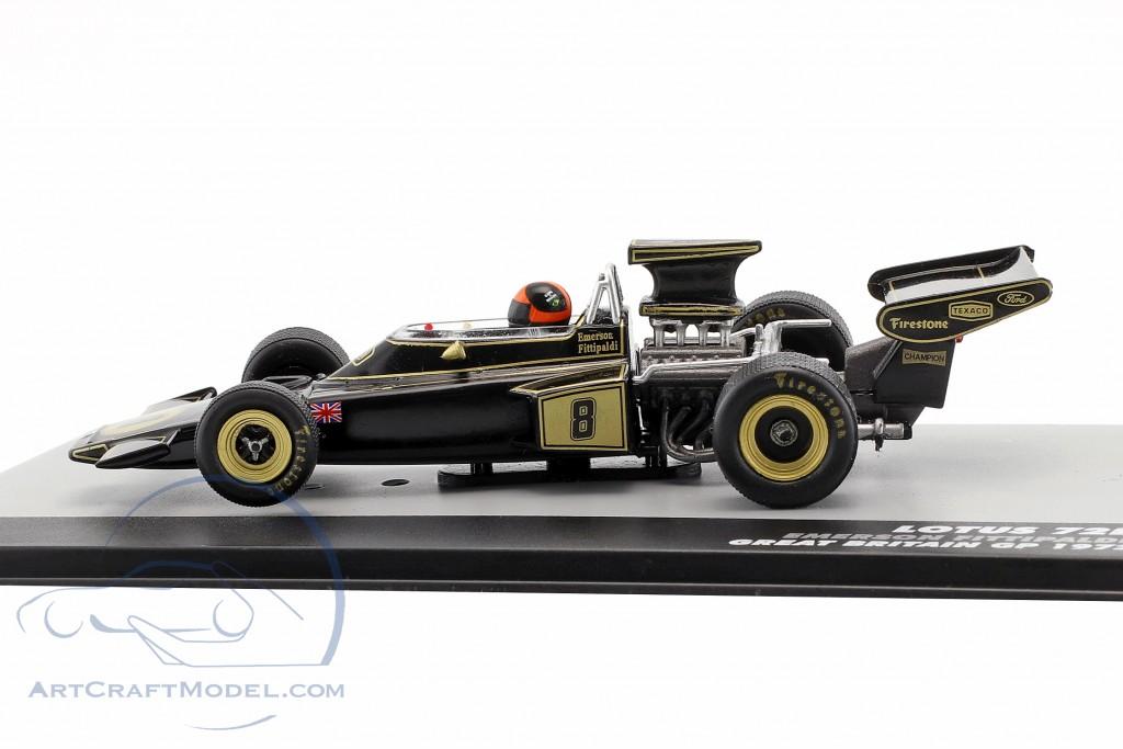 Emerson Fittipaldi Lotus 72D #8 Winner Großbritannien GP Formel 1 1972