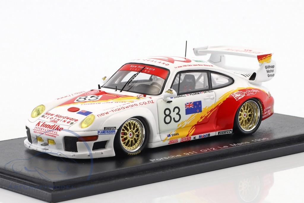 Porsche 911 (993) GT2 #83 24h LeMans 1996 Ortelli, Pilgrim, Bagnall