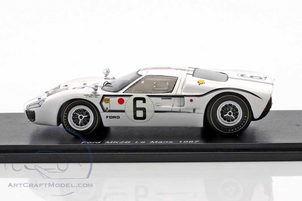 Ford GT40 MK IIB #6 24h LeMans 1967 Schlesser, Ligier