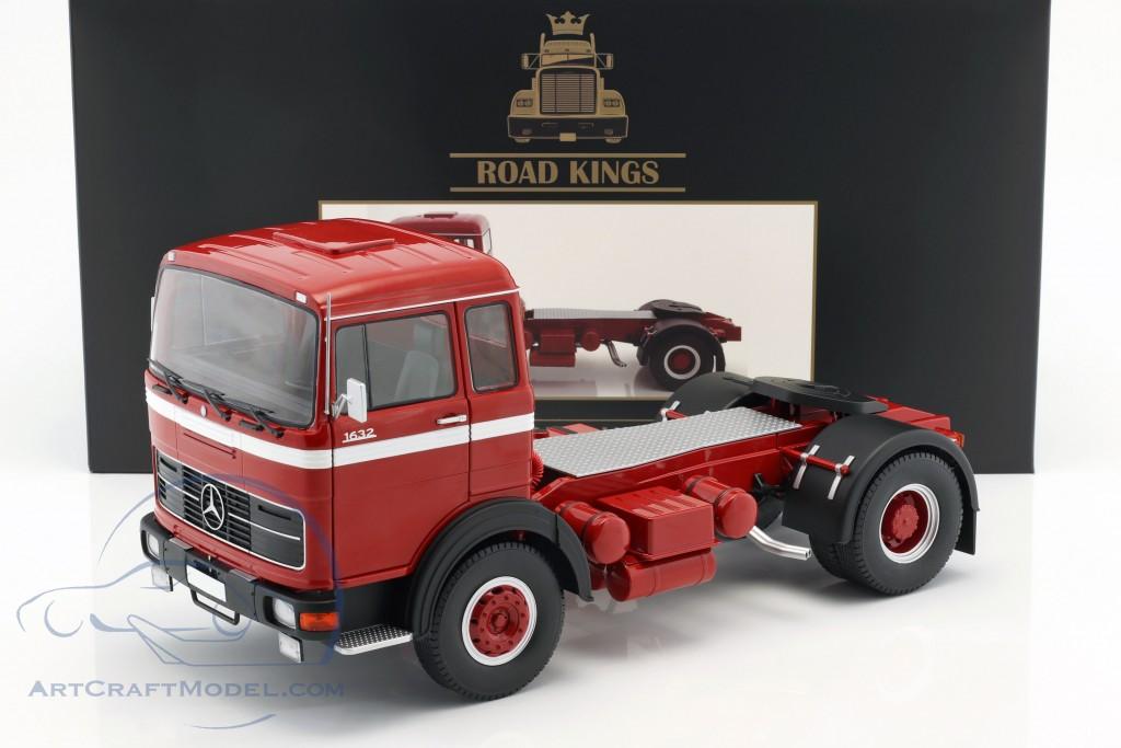 Mercedes-Benz LPS 1632 Sattelzugmaschine Baujahr 1969 rot / weiß