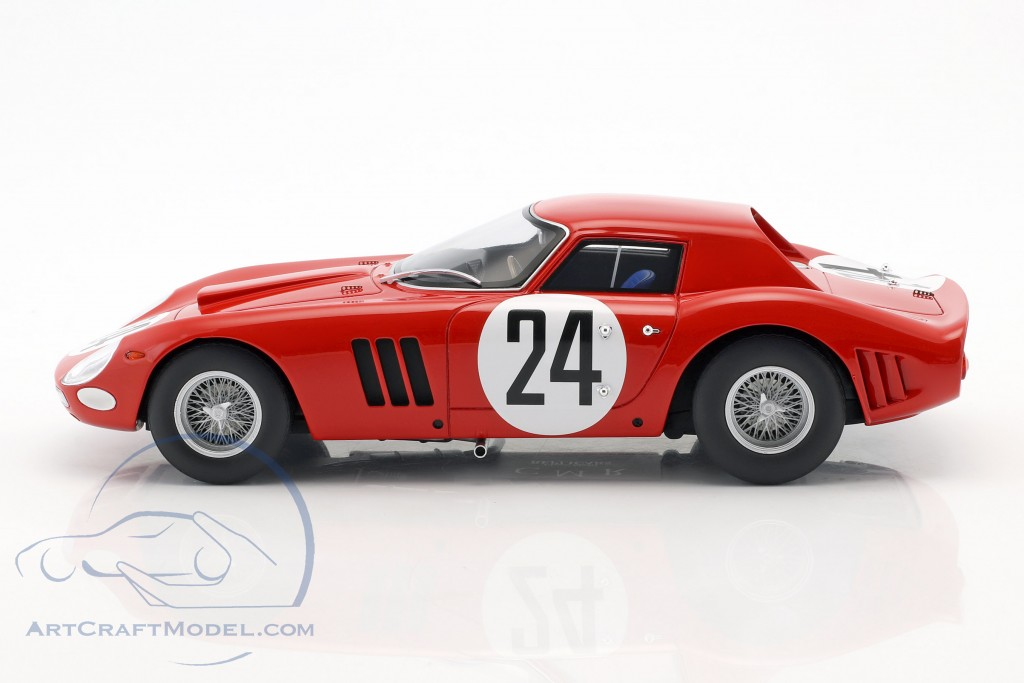 Ferrari 250 GTO #24 5th 24h LeMans 1964 Bianchi, Blaton