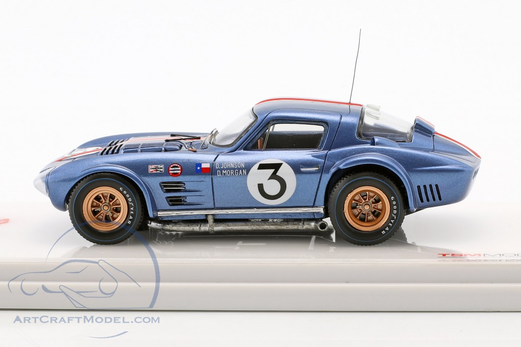 Chevrolet Corvette Grand Sport #3 12h Sebring 1964 Johnson, Morgan