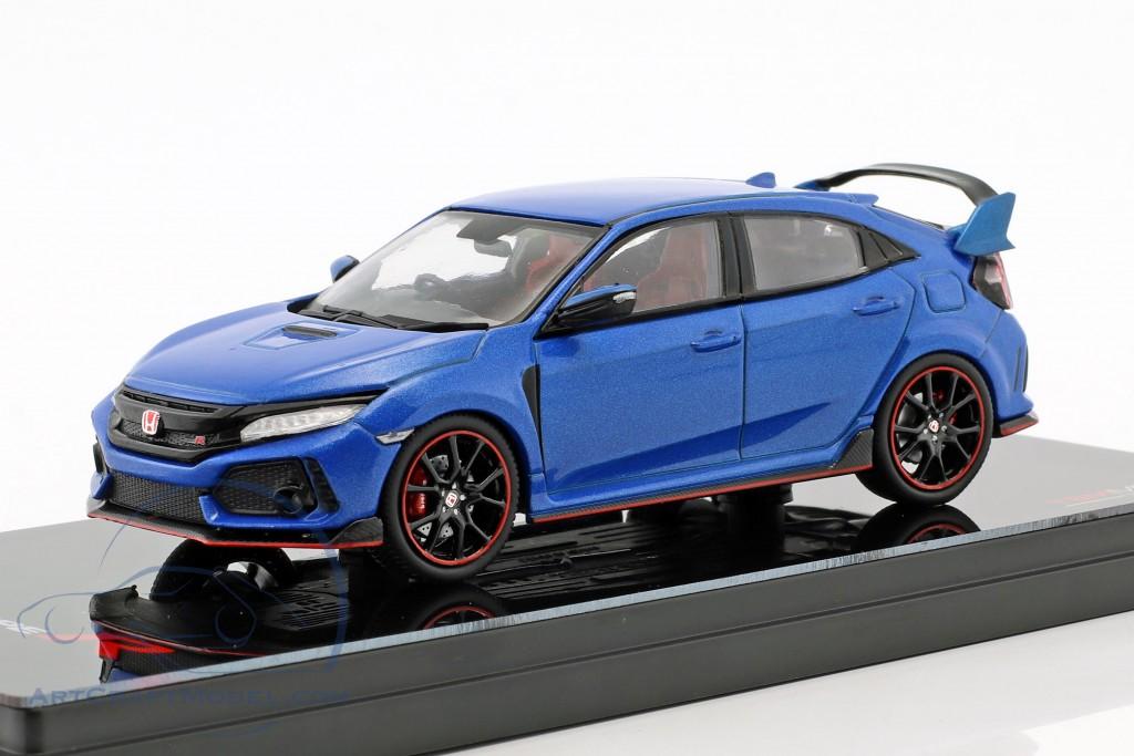 Honda Civic Typ R RHD Baujahr 2017 aegean blau metallic