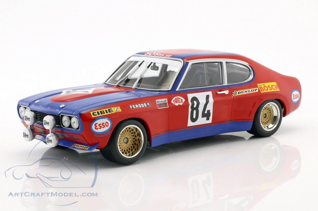 Ford Capri RS 2600 #84 24h LeMans 1972 Guerie, Rouget