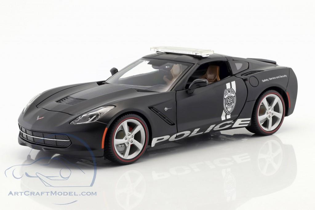 Chevrolet Corvette Stingray >> Chevrolet Corvette Stingray Police Black