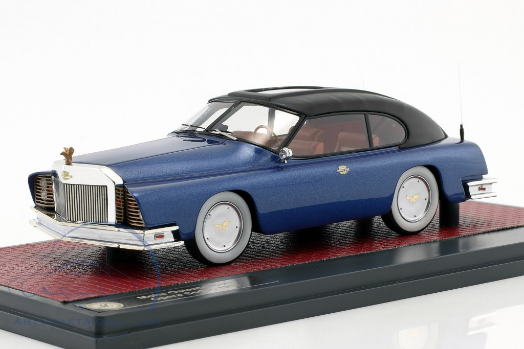 Mohs Ostentatienne Opera Sedan Baujahr 1967 blau metallic / schwarz