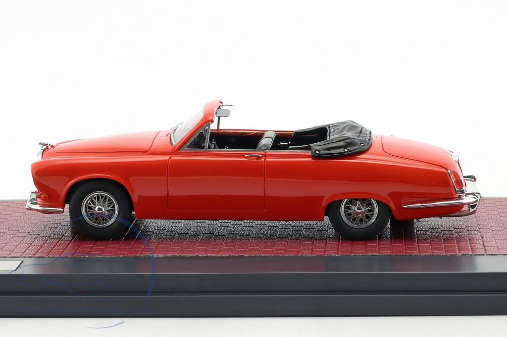 Jaguar 420 Harold Radford Convertible Baujahr 1967 rot
