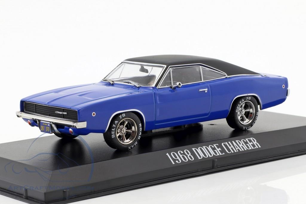 Christine 1968 Dennis Gulden Dodge Charger Blau 1:43 Maßstab Greenlight Spielzeugautos