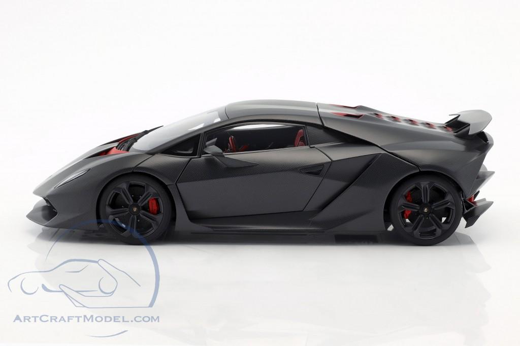 Lamborghini Sesto Elemento Year 2010 carboxylic gray