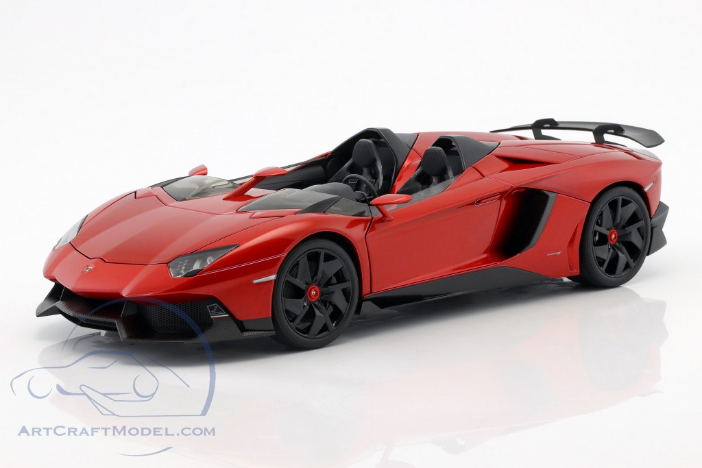 Lamborghini Aventador J Year 2012 Red Metallic 74673 Ean 674110746730