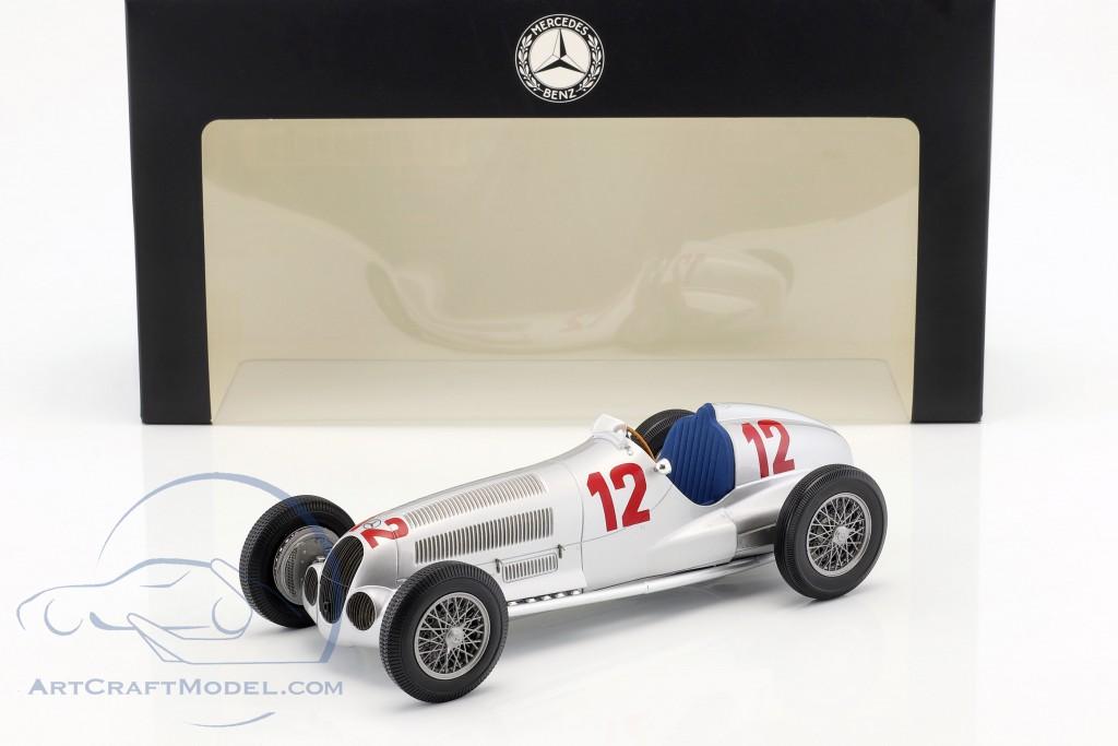 RUDOLF CARACCIOLA 1937 Car Auto #pha.028134 Photo MERCEDES BENZ W125