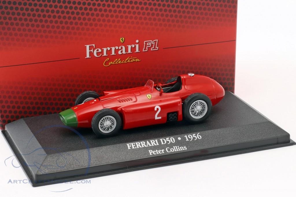 Ferrari D50 Peter Collins 1956 F1-Collection  Maßstab 1:43 von atlas