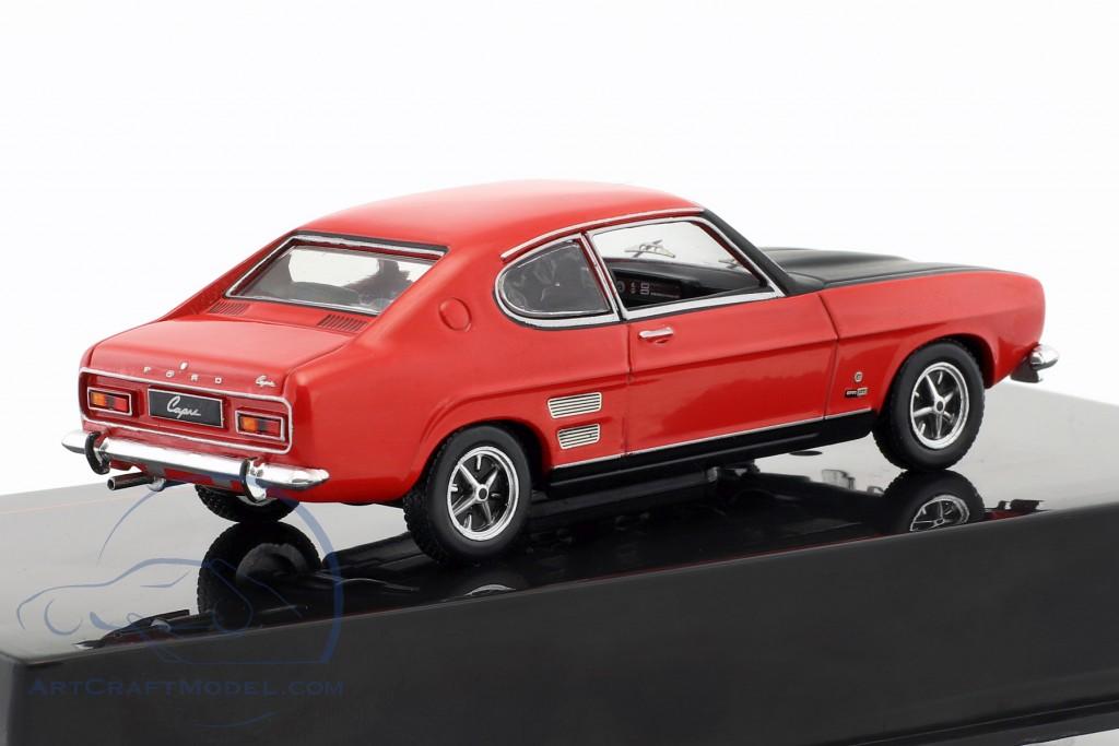 Ford Capri 1700 Gt Year 1970 Red Black Clc258 Ean 4895102325184