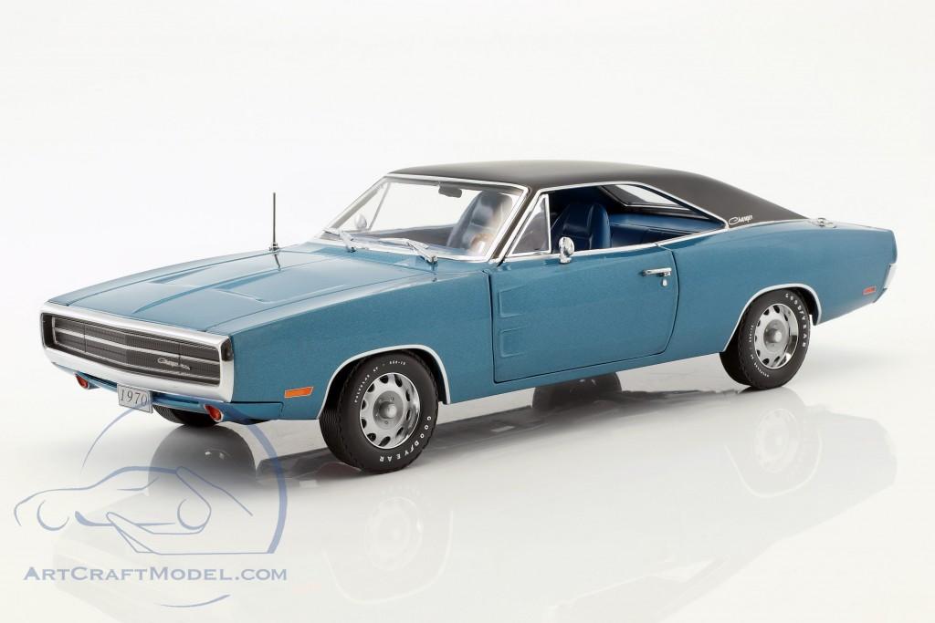 Dodge Charger 500 SE Baujahr 1970 blau / schwarz