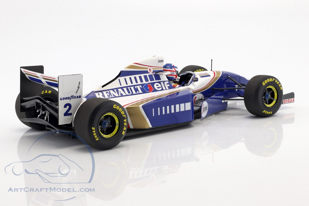 Nigel Mansell Williams FW16 #2 Comeback Frankreich GP F1 1994