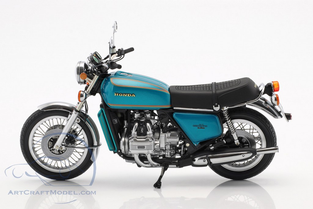 Honda Goldwing GL 1000 K0 Baujahr 1975 türkis metallic