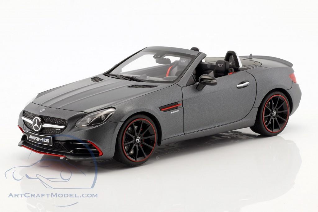 Mercedes-Benz AMG SLC 43 Coupe designo selenitgrau magno  GT-Spirit