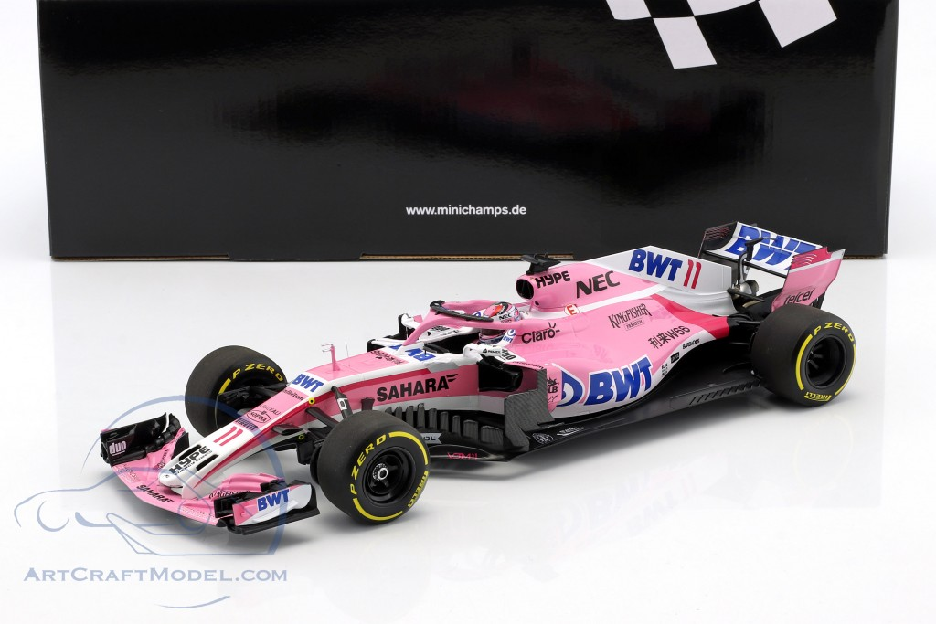 Sergio Perez Force India VJM11 #11 Formel 1 2018