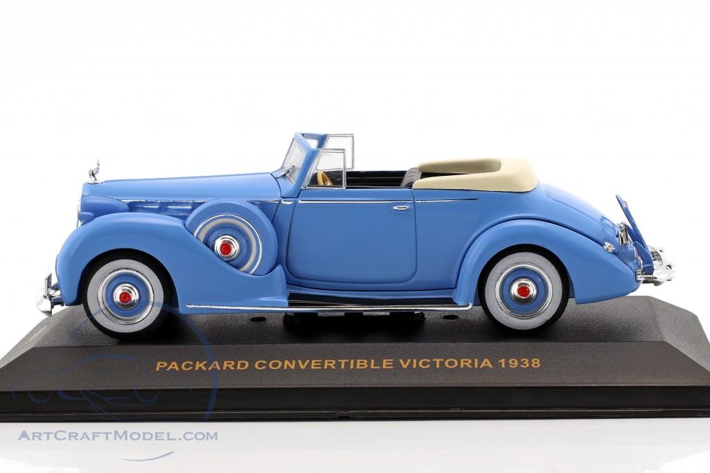 Packard Convertible Victoria Baujahr 1938 hellblau