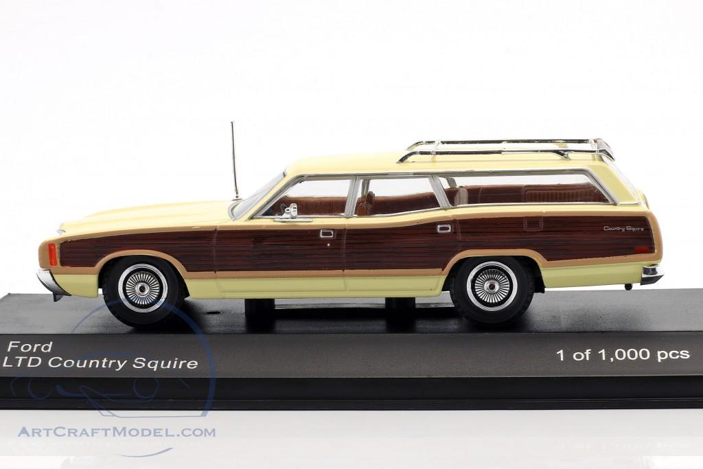 Ford LTD Country Squire Baujahr 1972 hell gelb / braun