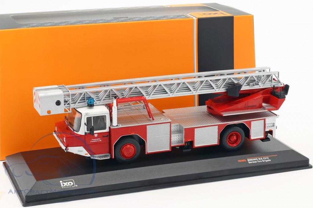 Magirus DLK 2312 Feuerwehr Frankfurt am Main rot