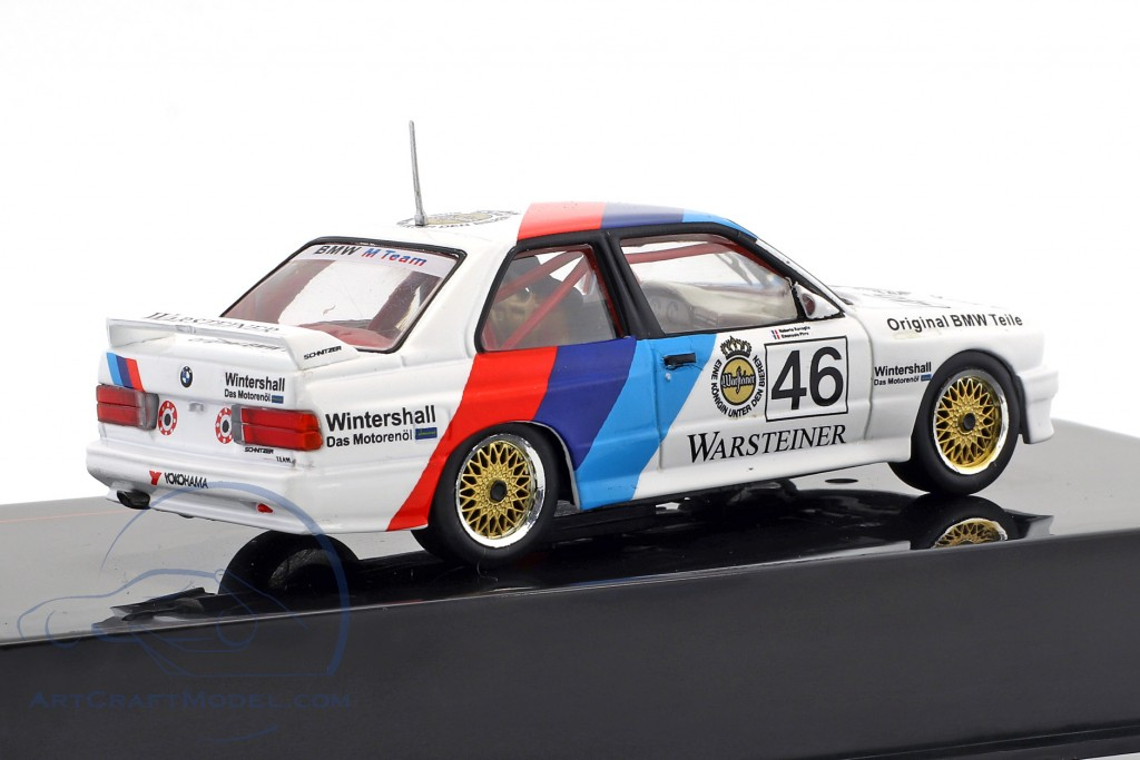 BMW M3 (E30) #46 WTCC 1987 Ravaglia, Pirro
