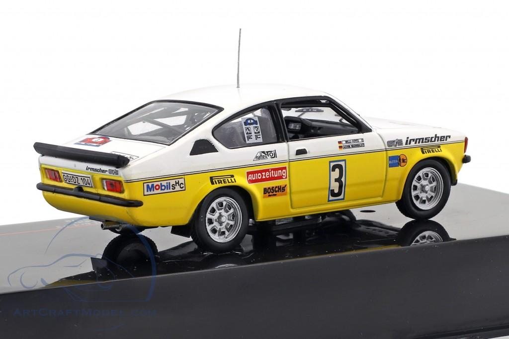 Opel Kadett GT/E Gr.1 #3 Rallye Hunsrück 1978 Warmbold, Pitz