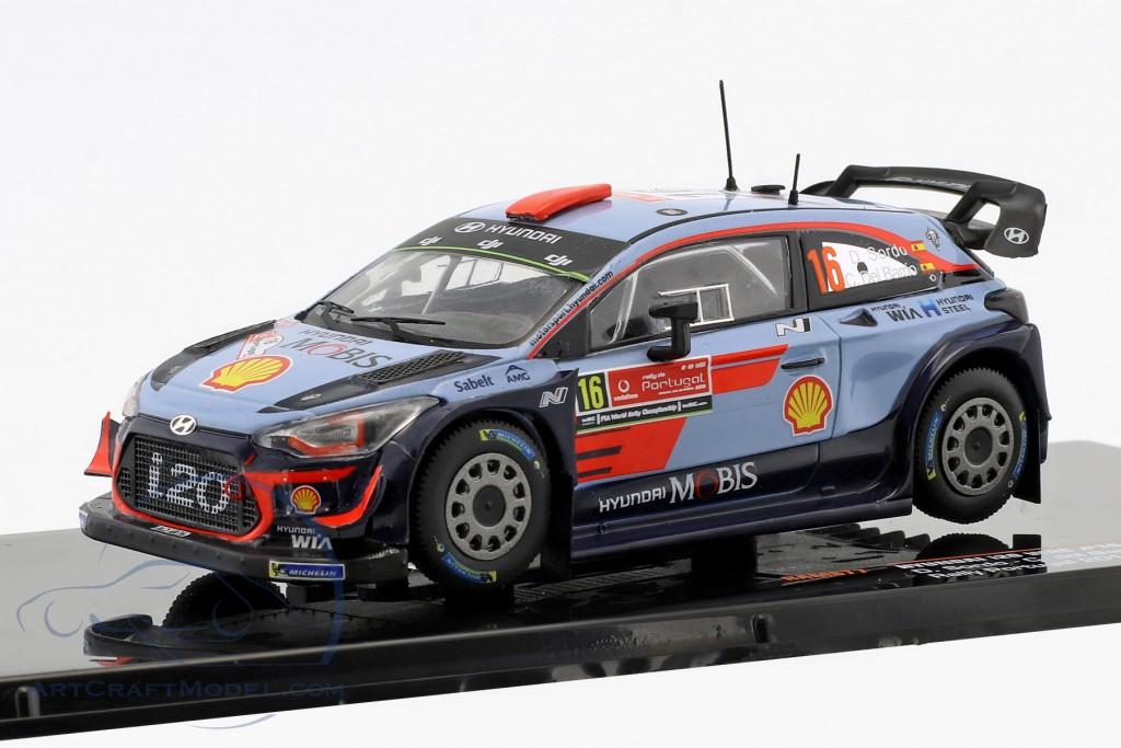 Hyundai i20 WRC #16  4th Rallye Portugal 2018 Sordo, del Barrio