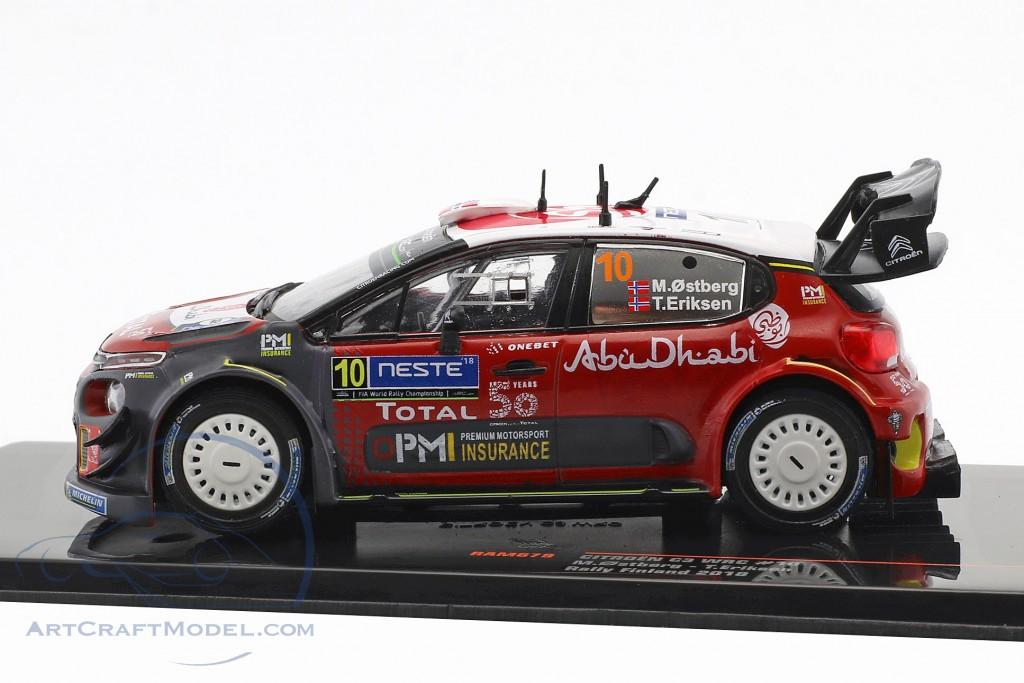 Citroen C3 WRC #10 2nd Rallye Finnland 2018 Ostberg, Eriksen