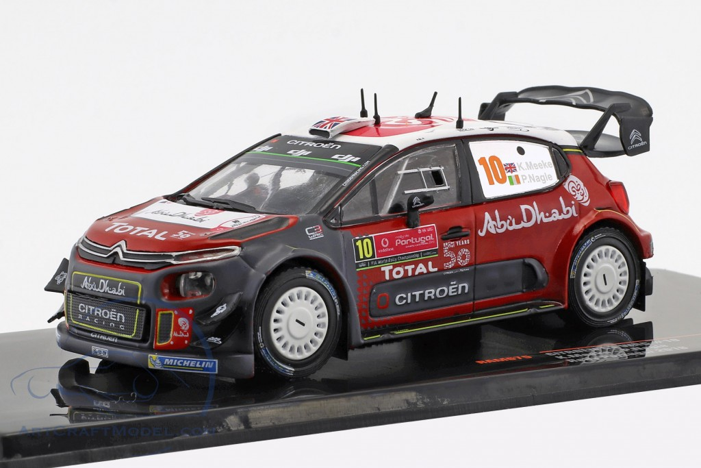 Citroen C3 WRC #10 Rallye Portugal 2018 Meeke, Nagle