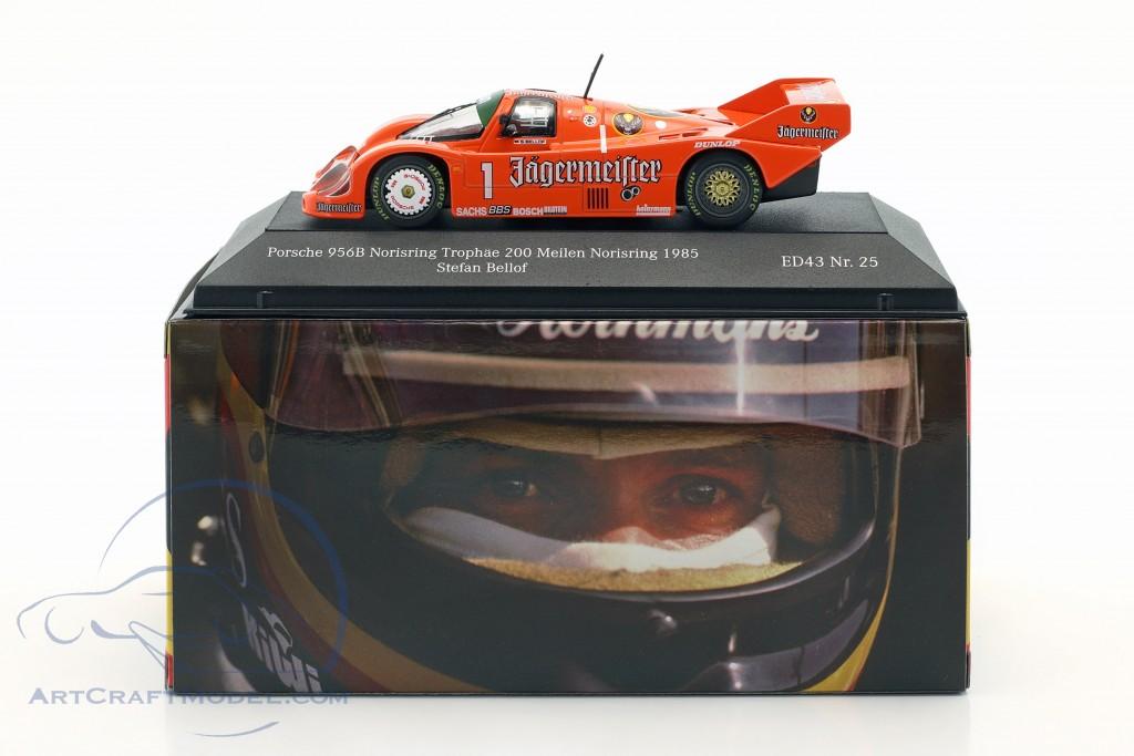 Porsche 956B #1 5th Norisring Trophäe 200 Meilen Norisring 1985 Bellof
