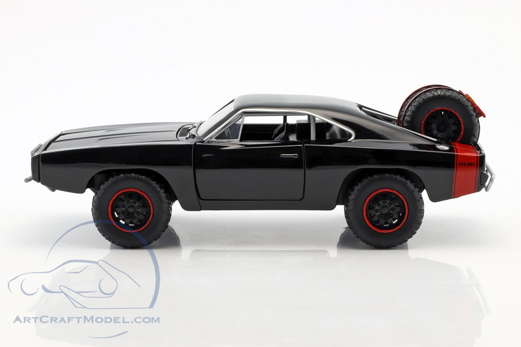 Dodge Charger R T Offroad Year 1970 Fast And Furious 7 Black Jada Toys 97038 Ean 801310970386