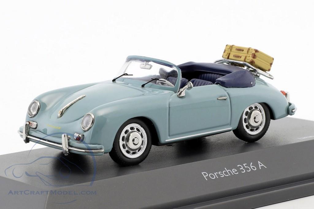 Porsche 356 A Cabriolet Reisezeit meißenblau