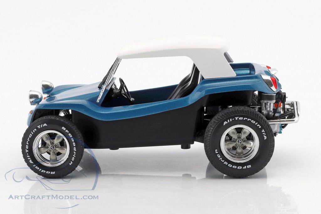 Meyers Manx Buggy Baujahr 1968 blau metallic / weiß