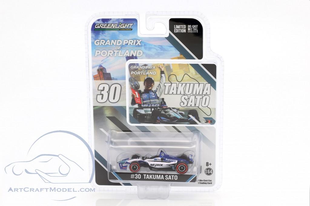 Takuma Sato Honda #30 Winner Portland GP Indycar Series 2018