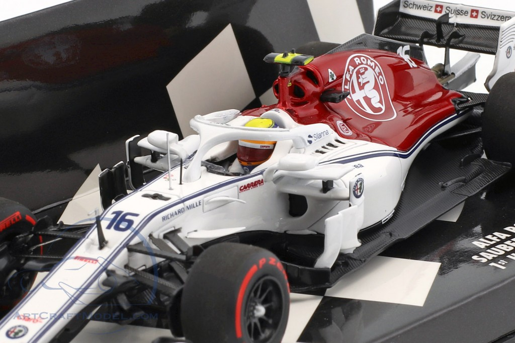 Charles Leclerc Sauber C37 #16 First Home Race Monaco GP F1 2018