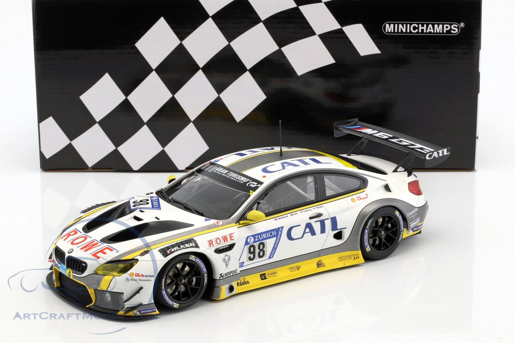 BMW M6 GT3 #98 2nd 24h Nürburgring 2017 Rowe Racing