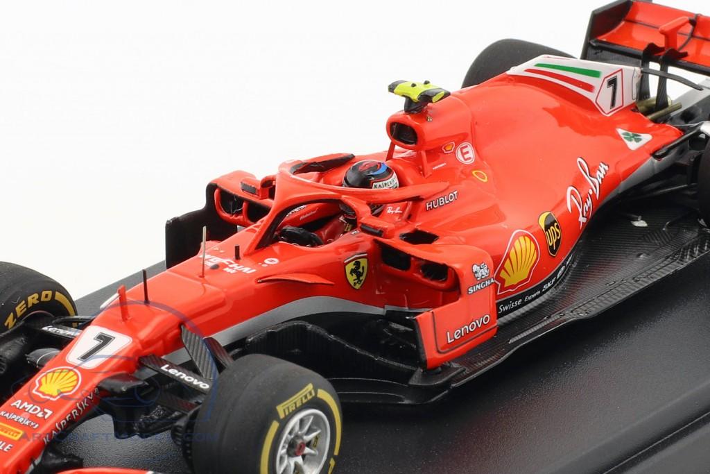 Kimi Räikkönen Ferrari SF71H #7 Winner USA GP Formel 1 2018