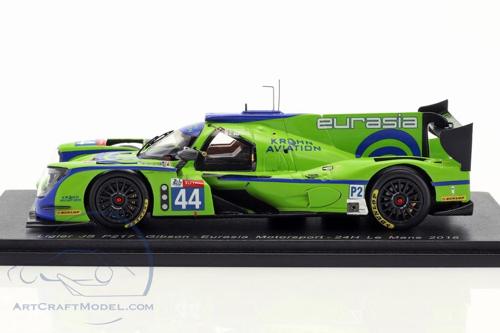 Ligier JS P217 #44 24h LeMans 2018 Bertolini, Jönsson, Krohn