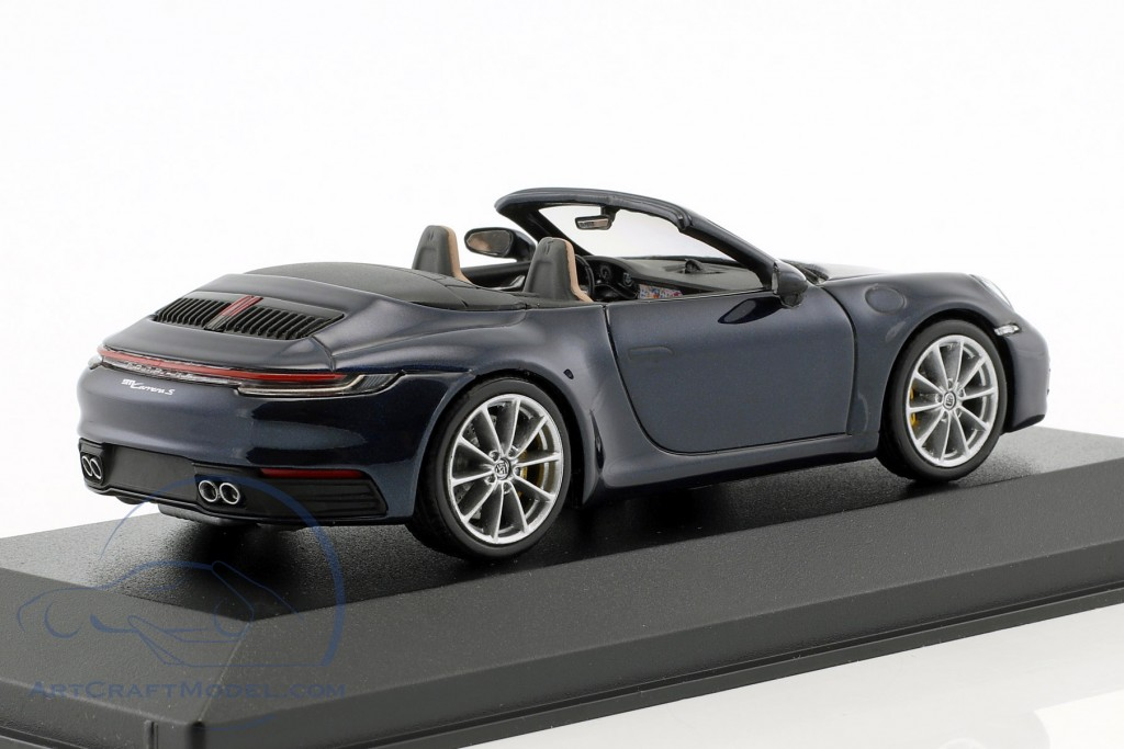 Porsche 911 (992) Carrera S Cabriolet Baujahr 2019 night blue metallic